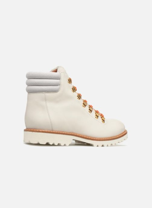 Boots en enkellaarsjes Made by SARENZA Toundra Girl Bottines Plates #2 Wit voorkant