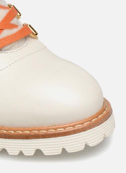 Boots en enkellaarsjes Made by SARENZA Toundra Girl Bottines Plates #2 Wit links