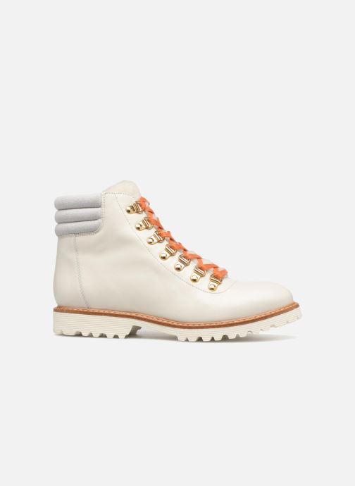 Boots en enkellaarsjes Made by SARENZA Toundra Girl Bottines Plates #2 Wit detail