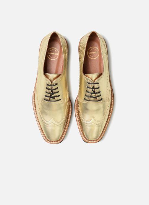 Zapatos con cordones Made by SARENZA Pastel Affair Chaussures à Lacets #5 Oro y bronce vista del modelo