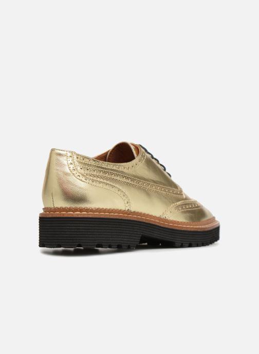 Zapatos con cordones Made by SARENZA Pastel Affair Chaussures à Lacets #5 Oro y bronce vista de frente