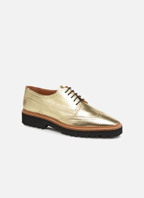 Zapatos con cordones Made by SARENZA Pastel Affair Chaussures à Lacets #5 Oro y bronce vista lateral derecha