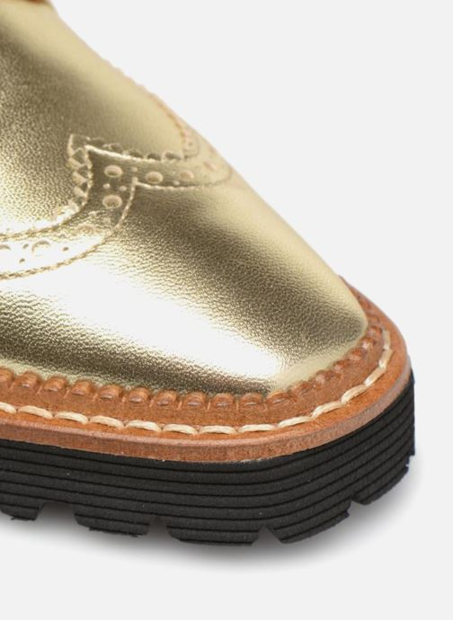 Zapatos con cordones Made by SARENZA Pastel Affair Chaussures à Lacets #5 Oro y bronce vista lateral izquierda