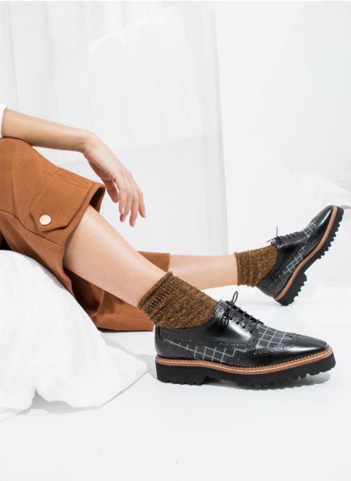 Zapatos con cordones Made by SARENZA Pastel Affair Chaussures à Lacets #5 Negro vista de abajo