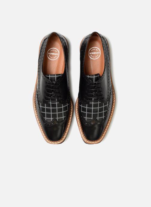 Scarpe con lacci Made by SARENZA Pastel Affair Chaussures à Lacets #5 Nero modello indossato