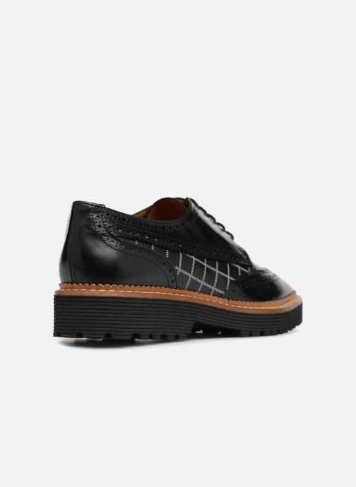 Chaussures Made à Lacets5 By Pastel Sarenza Print Affair Lisse Noir Carreaux Et Cuir YbfI6gv7y