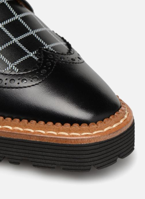 Carreaux 5 By Lisse Et Chaussures Sarenza Noir À Cuir Made Print Lacets Affair Pastel 0TOqOxaw