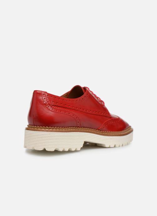 Zapatos con cordones Made by SARENZA Pastel Affair Chaussures à Lacets #5 Rojo vista de frente