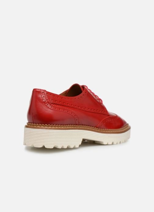 Scarpe con lacci Made by SARENZA Pastel Affair Chaussures à Lacets #5 Rosso immagine frontale
