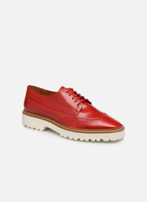 Zapatos con cordones Made by SARENZA Pastel Affair Chaussures à Lacets #5 Rojo vista lateral derecha