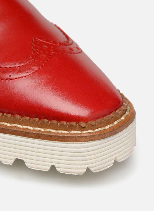Zapatos con cordones Made by SARENZA Pastel Affair Chaussures à Lacets #5 Rojo vista lateral izquierda