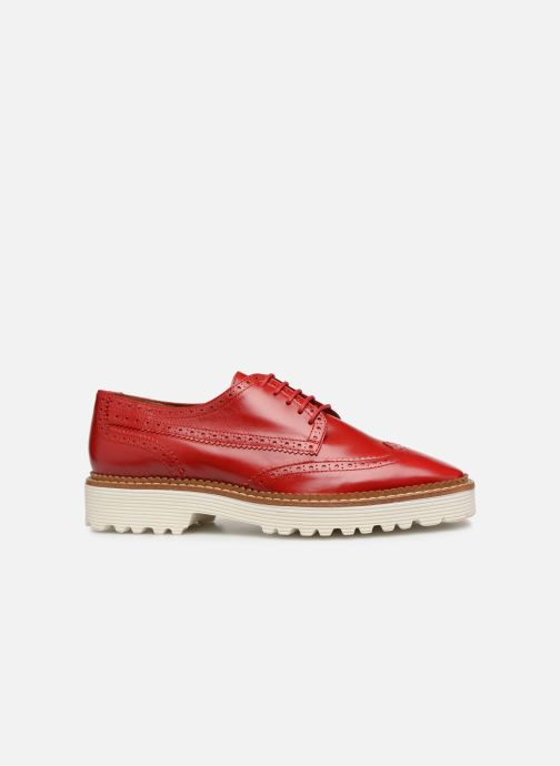 Veterschoenen Made by SARENZA Pastel Affair Chaussures à Lacets #5 Rood detail