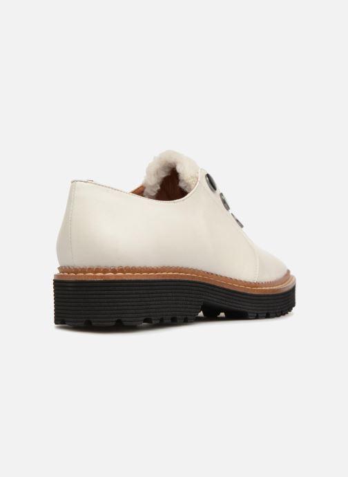Cassé Chaussures à Lacets2 Blanc Girl Toudra Cuir Made By Sarenza Lisse TlF1JuKc35