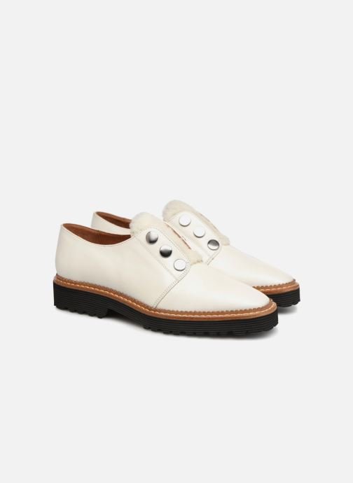 Veterschoenen Made by SARENZA Toudra Girl Chaussures à Lacets #2 Wit achterkant