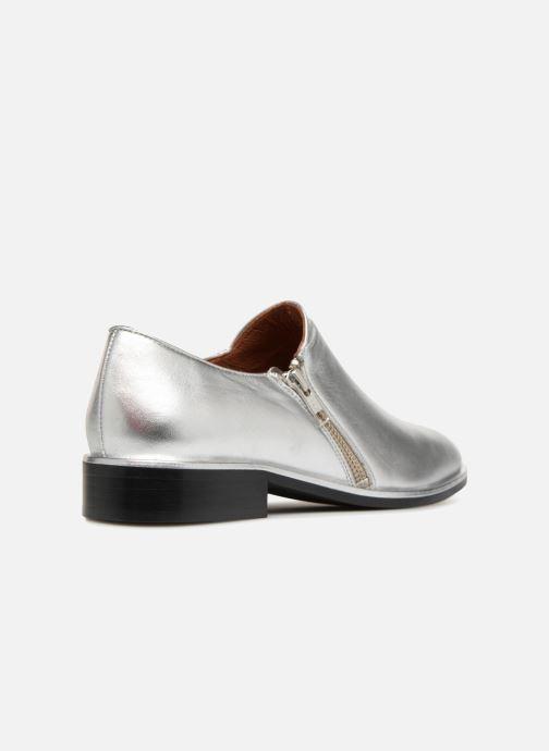 Mocasines Made by SARENZA 80's Disco Girl Chaussures à Lacets #1 Plateado vista de frente