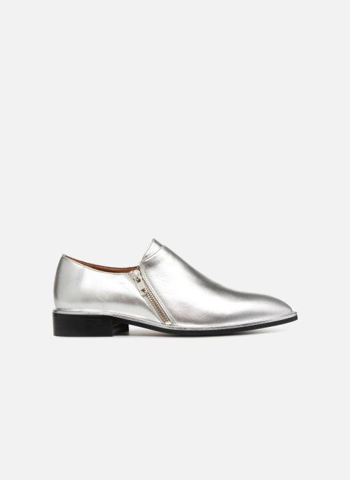Mocassins Made by SARENZA 80's Disco Girl Chaussures à Lacets #1 Argent vue détail/paire