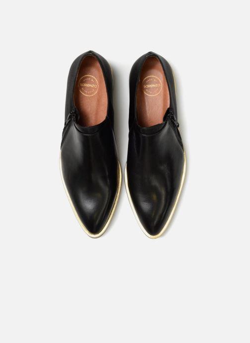 Mocassins Made by SARENZA 80's Disco Girl Chaussures à Lacets #1 Noir vue portées chaussures