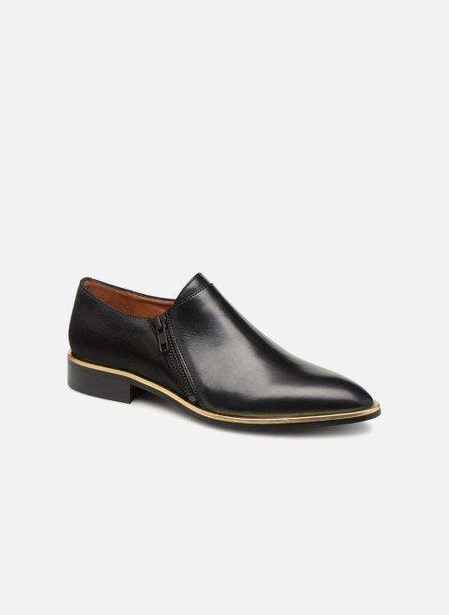 Mocassins Made by SARENZA 80's Disco Girl Chaussures à Lacets #1 Noir vue droite