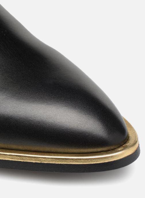 Mocassins Made by SARENZA 80's Disco Girl Chaussures à Lacets #1 Noir vue gauche