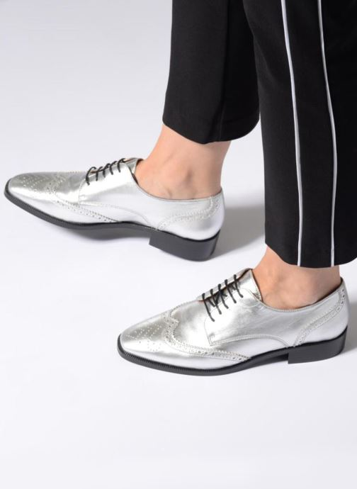 Veterschoenen Made by SARENZA Busy Girl Chaussures à Lacets #4 Zilver onder