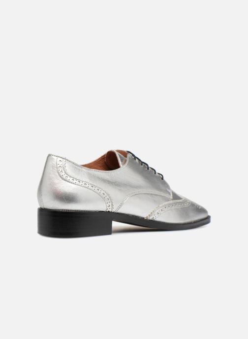 Veterschoenen Made by SARENZA Busy Girl Chaussures à Lacets #4 Zilver voorkant