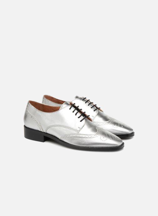 Veterschoenen Made by SARENZA Busy Girl Chaussures à Lacets #4 Zilver achterkant