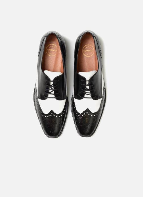 Schnürschuhe Made by SARENZA Busy Girl Chaussures à Lacets #4 schwarz schuhe getragen