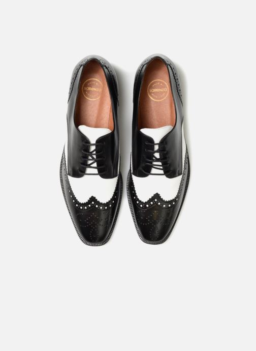 Zapatos con cordones Made by SARENZA Busy Girl Chaussures à Lacets #4 Negro vista del modelo