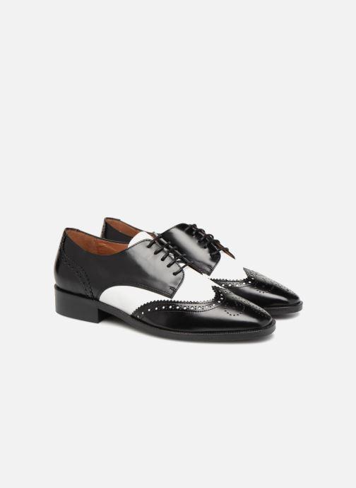 Schnürschuhe Made by SARENZA Busy Girl Chaussures à Lacets #4 schwarz ansicht von hinten