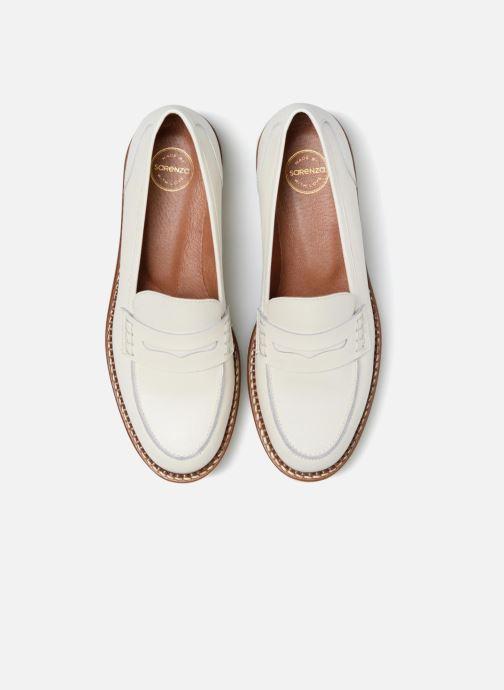 Mocassins Made by SARENZA Pastel Affair Mocassins #7 Blanc vue portées chaussures