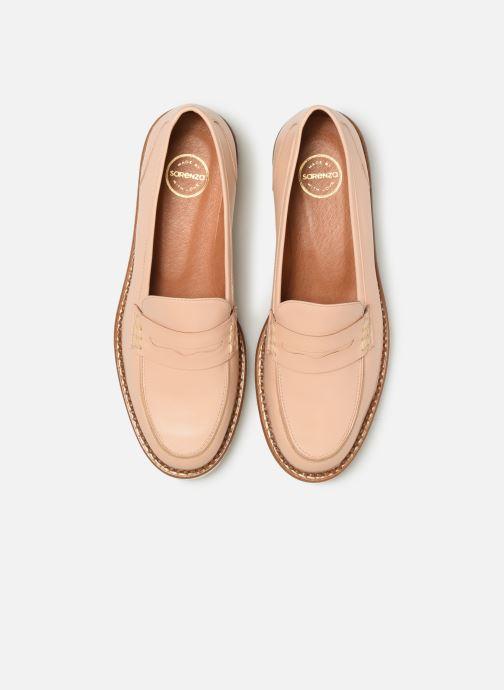 Mocassins Made by SARENZA Pastel Affair Mocassins #7 Beige vue portées chaussures