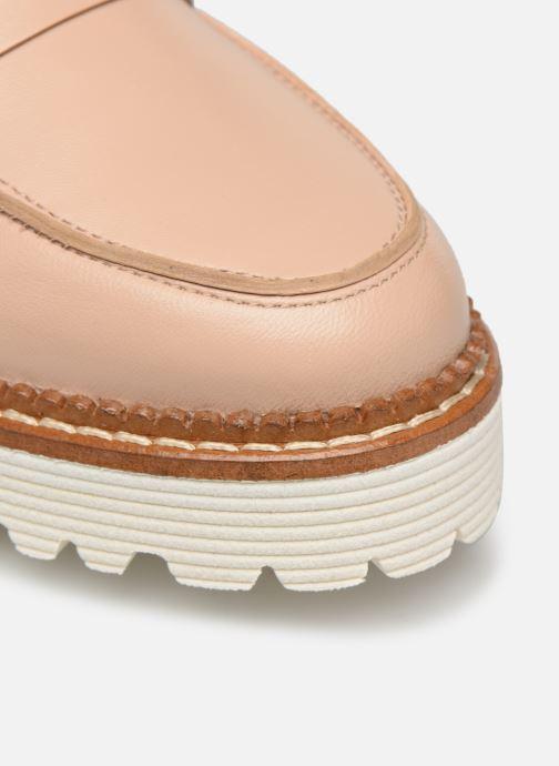 Slipper Made by SARENZA Pastel Affair Mocassins #7 beige ansicht von links