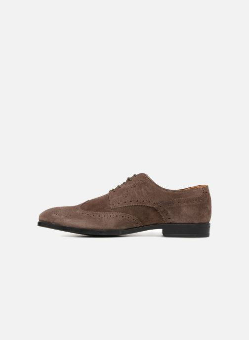 Lace-up shoes Marvin&co Nalsown Brown front view