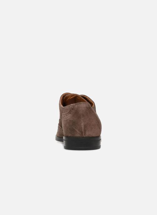 Chaussures à lacets Marvin&Co Nalsown Marron vue droite