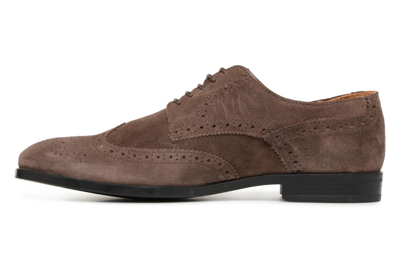 Chaussures à lacets Marvin&Co Nalsown Marron vue face