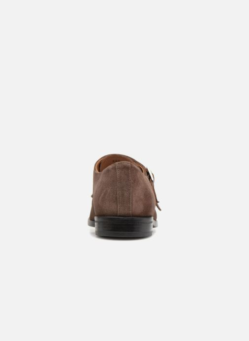 Mocassins Marvin&Co Nantone Marron vue droite