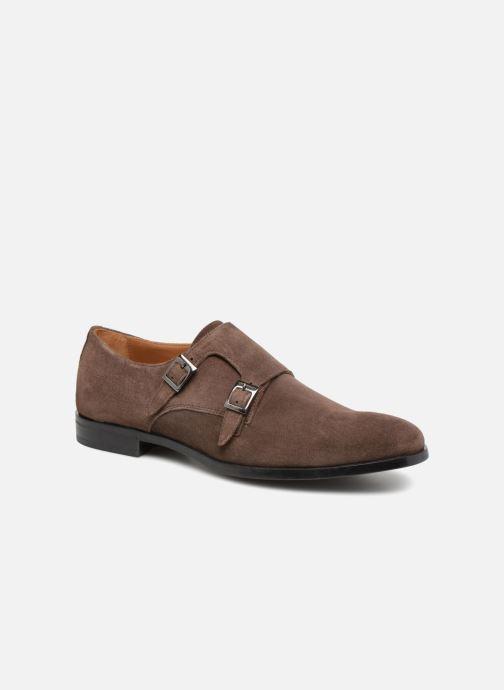 Chaussure à boucle Marvin&Co Nantone Marron vue détail/paire