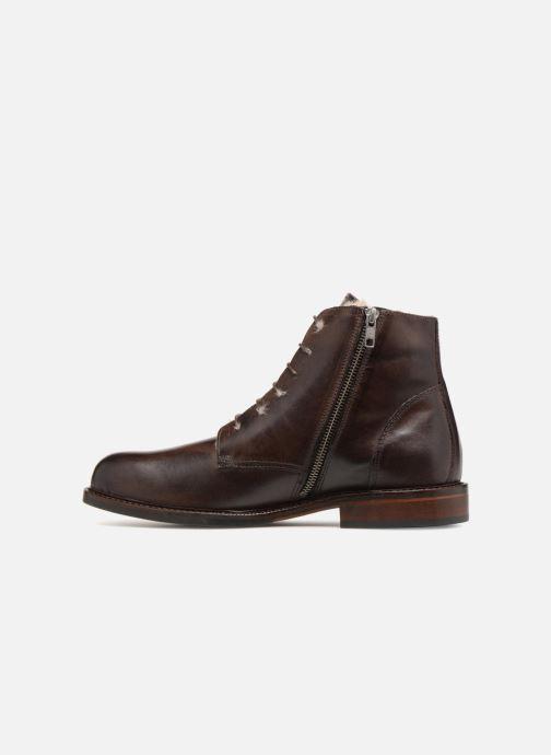 Bottines et boots Marvin&Co Nelwin Fourré Marron vue face