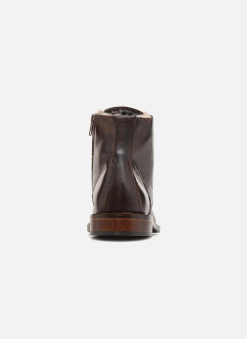 Bottines et boots Marvin&Co Nelwin Fourré Marron vue droite