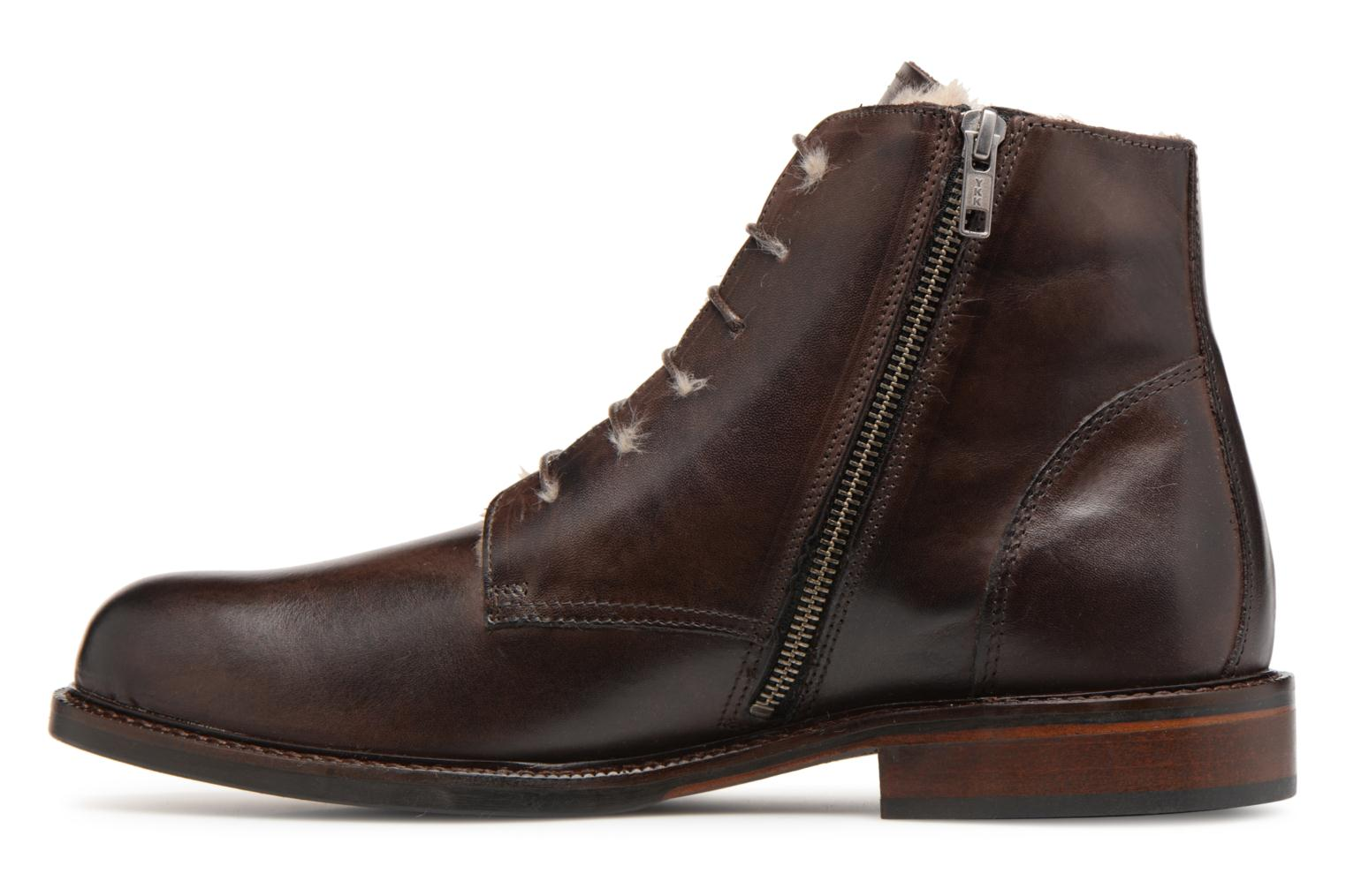 Bottines et boots Marvin&Co Nelwin Fourré Marron vue face