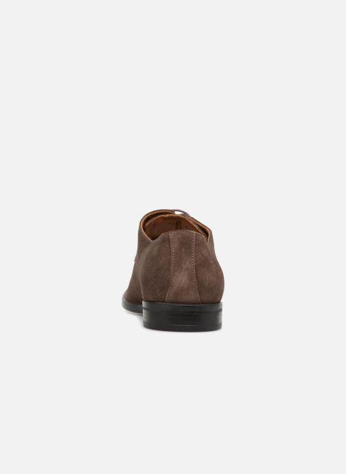 Zapatos con cordones Marvin&Co Nanlyn Marrón vista lateral derecha