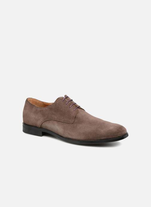 Snøresko Marvin&Co Nanlyn Brun detaljeret billede af skoene