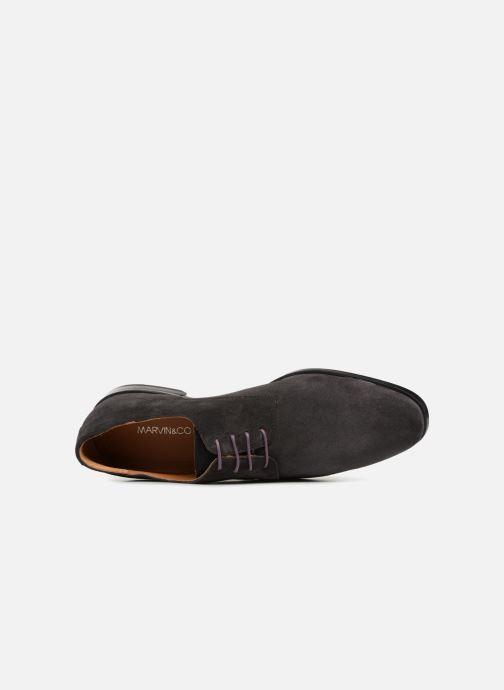 Zapatos con cordones Marvin&Co Nanlyn Gris vista lateral izquierda