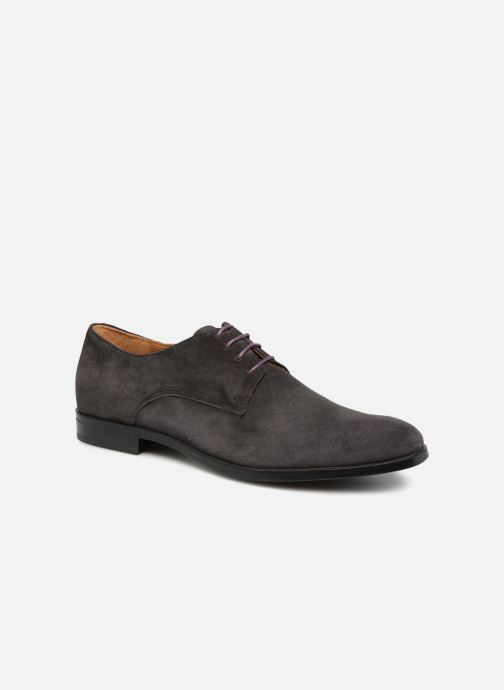 Lace-up shoes Marvin&co Nanlyn Grey detailed view/ Pair view