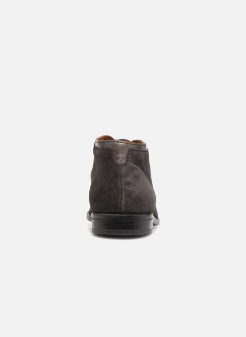 Ankle boots Marvin&co Norwaine Grey view from the right