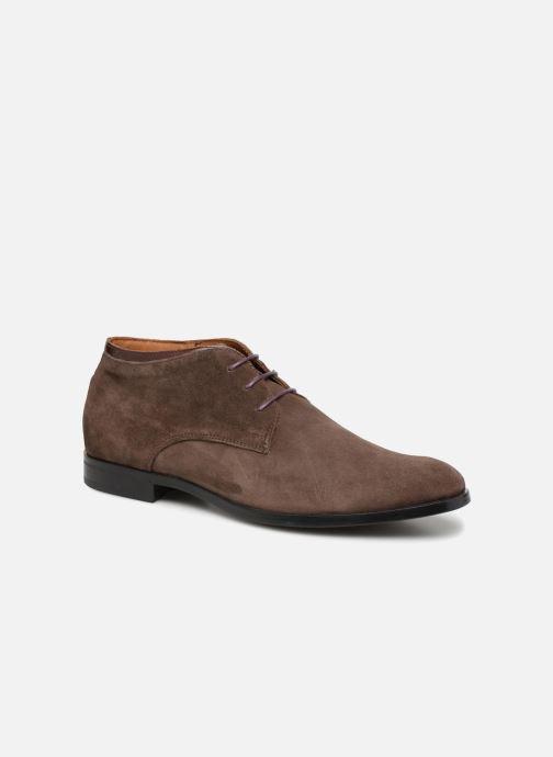 Bottines et boots Marvin&Co Norwaine Marron vue détail/paire