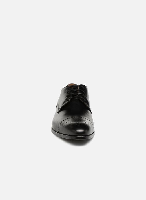Schnürschuhe Marvin&Co Nelton schwarz schuhe getragen