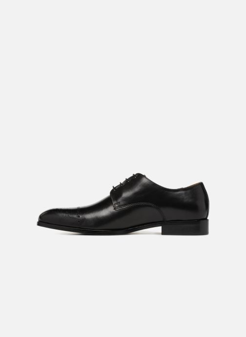 Lace-up shoes Marvin&co Nelton Black front view