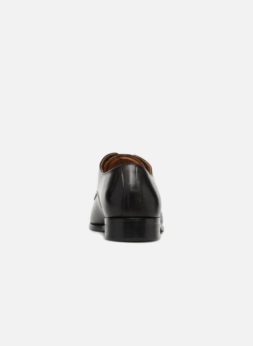 Zapatos con cordones Marvin&Co Nelton Negro vista lateral derecha