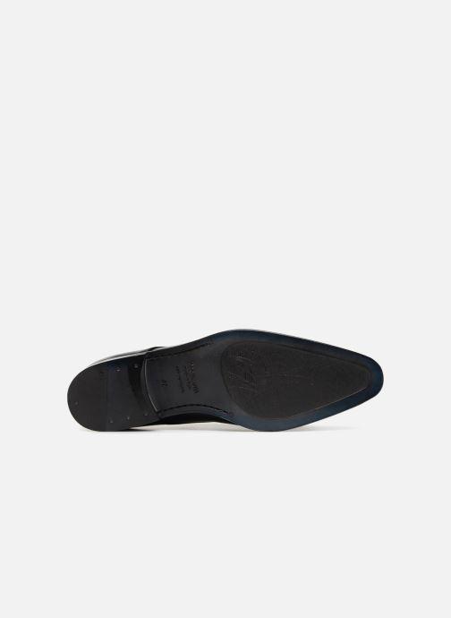Schnürschuhe Marvin&Co Nelton schwarz ansicht von oben